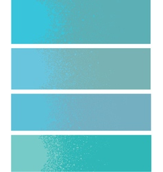 Spray paint gradient detail in light blue vector