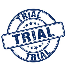 Trial stamp vector