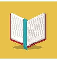 Book read library design vector