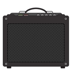 Electric Guitar Amplifier vector image