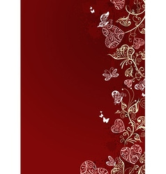 Valentines design with place for your text vector image