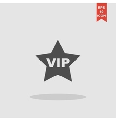 vip icon concept for design vector image