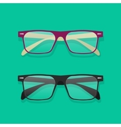 Glasses isolated  eyeglasses vector