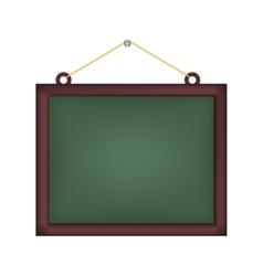 Chalk board school vector