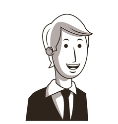 Businessman cartoon business graphic vector