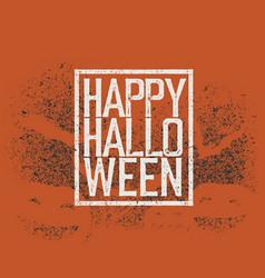 Halloween abstract logo halloween party vector