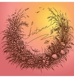 autumn color vector image