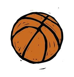 A basketball vector
