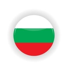 Bulgaria icon circle vector