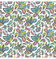 Hot Summer Indian Pattern vector image