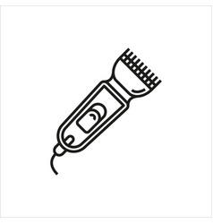 Shaver symbol hairclipper icon vector