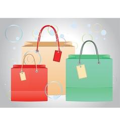 Shopping Bag Design4 vector image