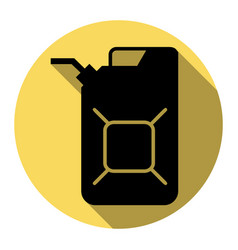 Jerrycan oil sign jerry can oil sign vector