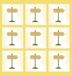 assembly flat shading style icons university vector image