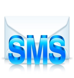 Sms envelope vector
