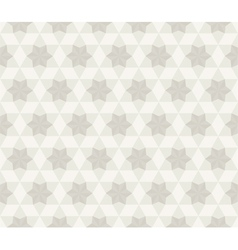 Antique Star Pattern Seamless Background vector image vector image