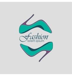 Fashion Logo Symbol vector image vector image