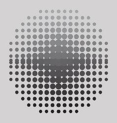 Halftone-background vector image