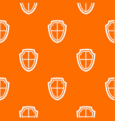 shield pattern seamless vector image