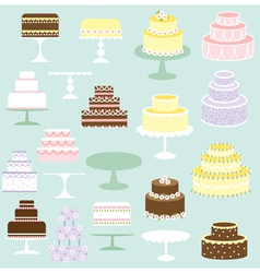 Cakes clipart vector