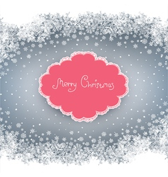 Christmas card background vector