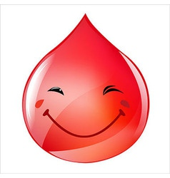 Blood Drop vector image vector image