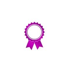 Medallion icon vector