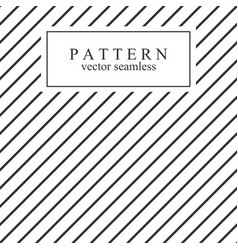 minimal geometric striped seamless pattern vector image