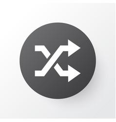 Shuffle icon symbol premium quality isolated vector