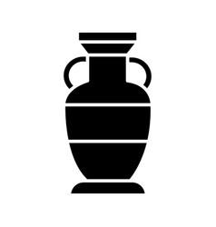 vase interior icon black vector image
