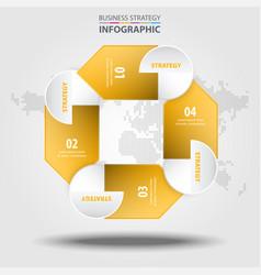 Business infographics design elements vector