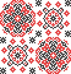 Abstract texture of ornaments vector