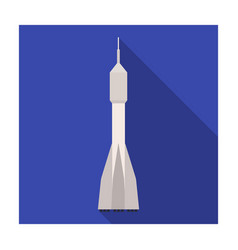 A rocket to fly into space transport for space vector