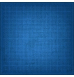 Blueprint old background vector