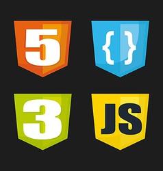 development design vector image