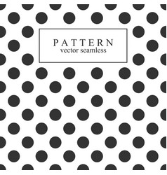 Elegant dotted seamless pattern vector