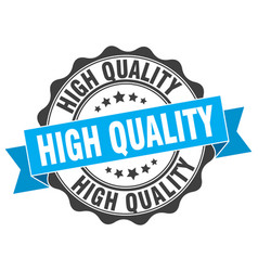 High quality stamp sign seal vector