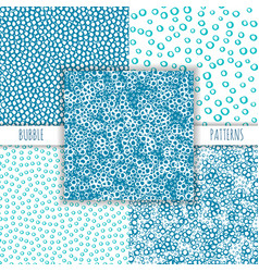 Seamless ink patterns vector