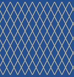 Seamless pattern of rhombus vector