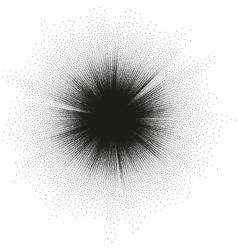 Starburst Plasma space burst background EPS 10 vector image vector image