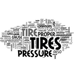What every driver should know about tires text vector