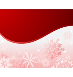 wiinter christmas frame vector image