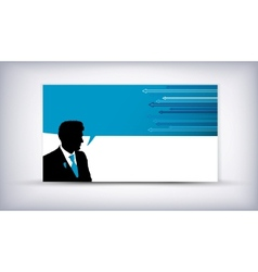 business man quote vector image