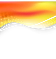 Bright solar folder background abstraction vector image vector image