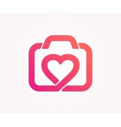 Logo design element abstract photo like vector