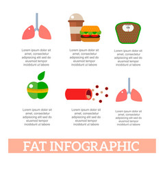Lose weight by jogging infographic elements and vector