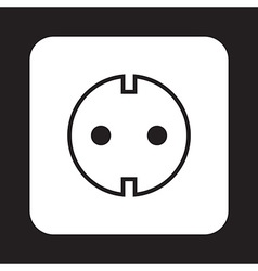 Socket icon vector