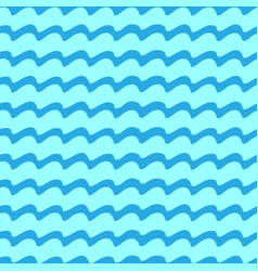 Wavy line seamless pattern vector