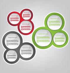 Web bubble vector image vector image