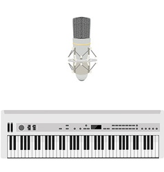Microphone and synthesizer vector
